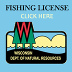 Guided ice fishing green bay salmon charter fishing lake for How much is a wisconsin fishing license